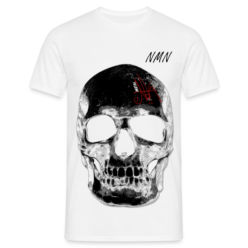 No Man's Name Skull - Herre-T-shirt