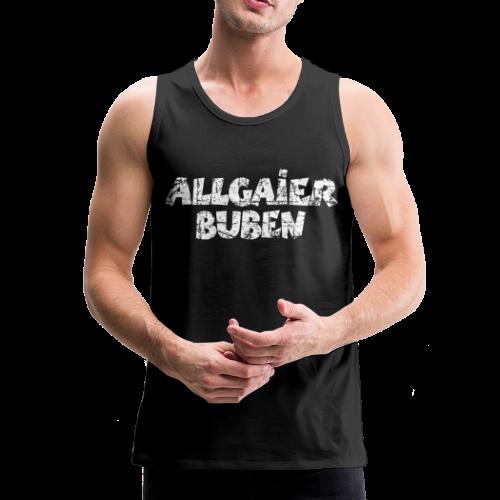 Allgaier Buben Tank Top (Schwarz) - Männer Premium Tank Top