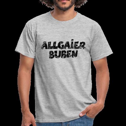 Allgaier Buben T-Shirt (Grau) - Männer T-Shirt