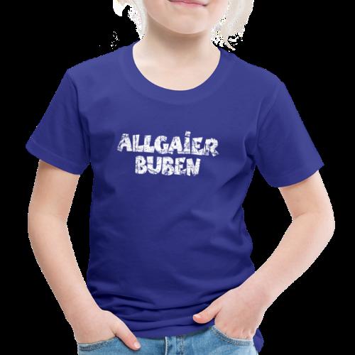 Allgaier Buben T-Shirt (Kinder/Blau) - Kinder Premium T-Shirt