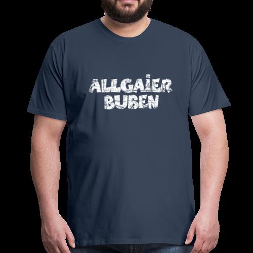 Allgaier Buben T-Shirt (Herren/Navy) - Männer Premium T-Shirt