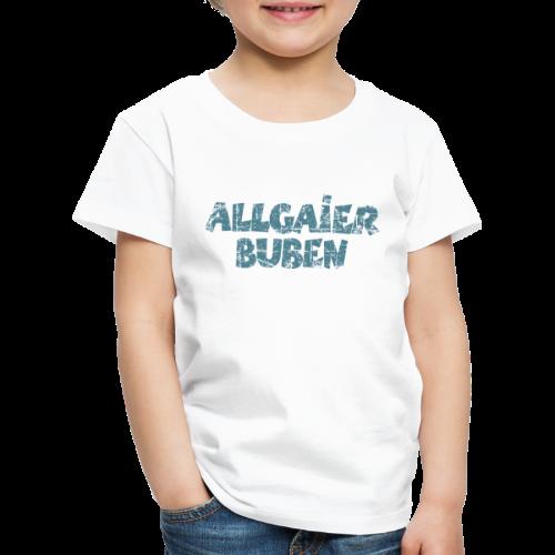 Allgaier Buben T-Shirt (Kinder/Weiß) - Kinder Premium T-Shirt