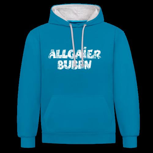 Allgaier Buben Hoodie - Kontrast-Hoodie