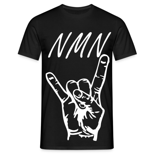No Man's Name Rock On  - Herre-T-shirt