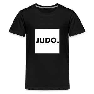 Kinder shirt Judo. - Teenager Premium T-shirt
