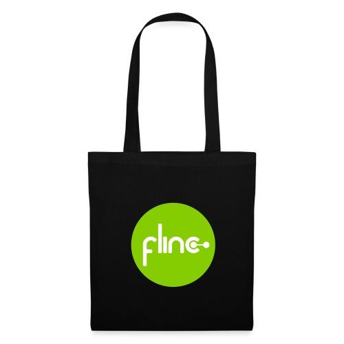 Stofftasche Logo grün - Stoffbeutel