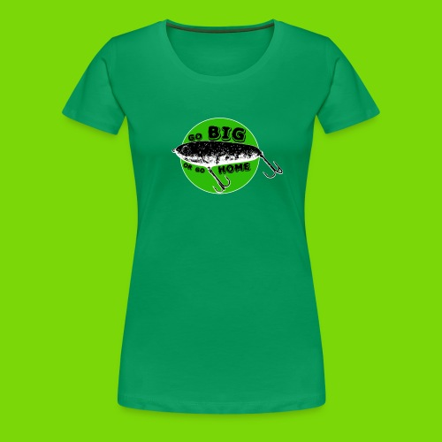 Gobigorgohome - Shirt für Mädels / grünes Logo - Frauen Premium T-Shirt