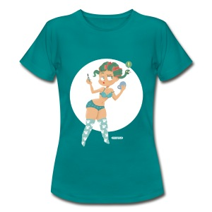 Pin-Up Medusa - Frauen T-Shirt