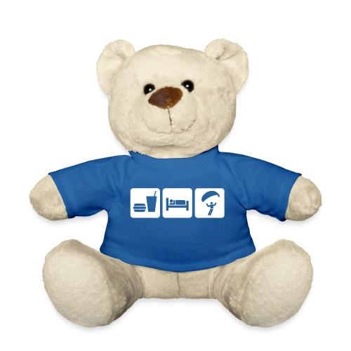 EAT SLEEP PARAGLIDE - Teddy Bear