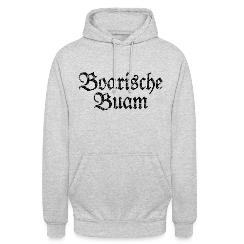Boarische Buam Hoodie (Grau) - Unisex Hoodie