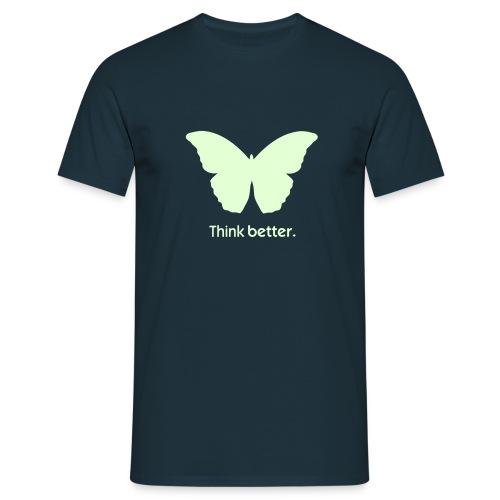 Think Better mit MorphOS - Nightglow - Männer T-Shirt