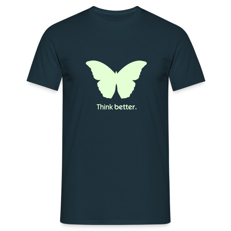 Think Better mit MorphOS - Nightglow - Männer T-Shirt