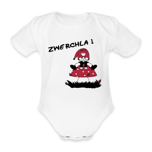 Body Zwerchla 1 - Baby Bio-Kurzarm-Body