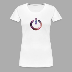 Switch On Space T-Shirts - Frauen Premium T-Shirt