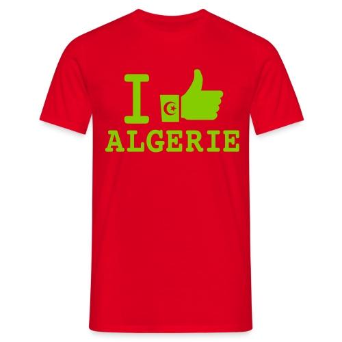 J'aime Algérie - T-shirt Homme