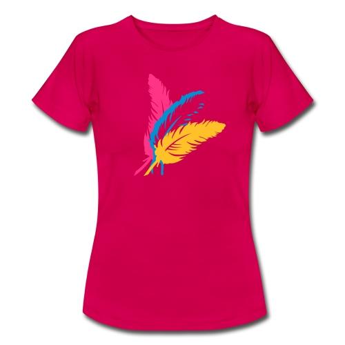 Plumes - T-shirt Femme