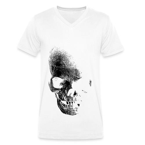 Skull2 - Männer Bio-T-Shirt mit V-Ausschnitt von Stanley & Stella