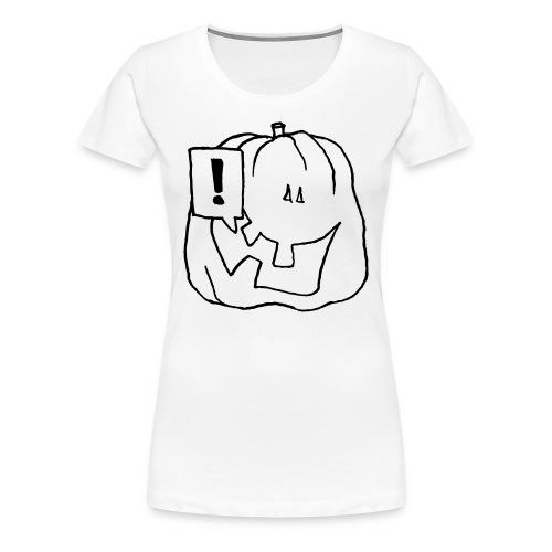 Hey! Blanc - T-shirt Premium Femme
