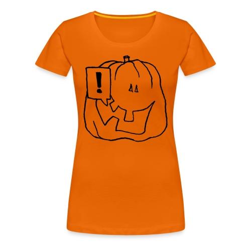 Hey! Orange - T-shirt Premium Femme