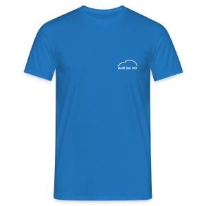 Läuft bei mir beidseitiger Druck - Männer T-Shirt