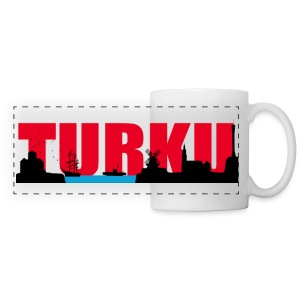 Turku silhouette (mug) - Panoraamamuki