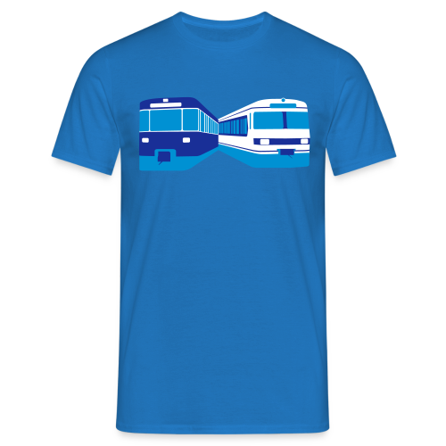 U6 Abfahrtsplan-Shirt + Bild - Männer T-Shirt