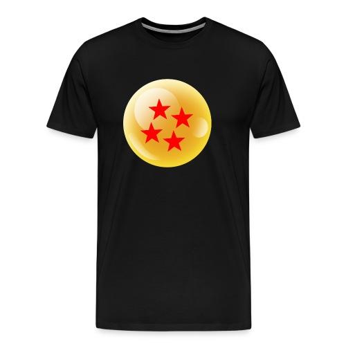 Camiseta Bola 4 Dragonball - Camiseta premium hombre