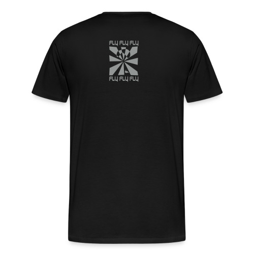FLY FLY FLY  (back) - Men's Premium T-Shirt