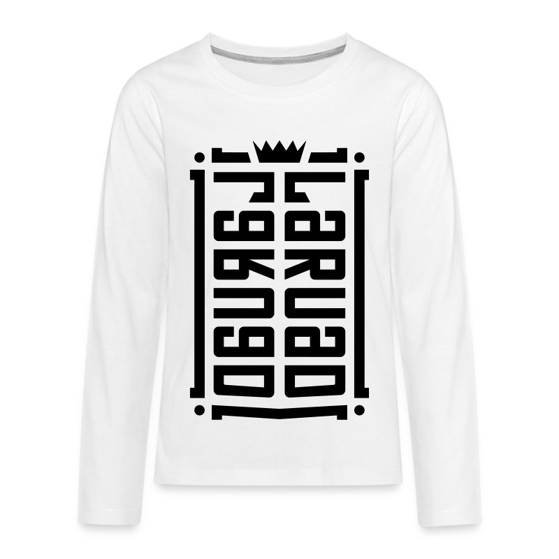 16 - T-shirt manches longues Premium Ado