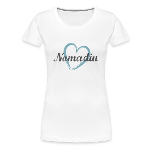 Premium T-Shirt Nomadin Jordanien - Frauen Premium T-Shirt