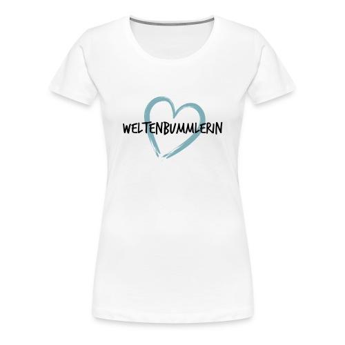 Premium T-Shirt Weltenbummlerin Peru - Frauen Premium T-Shirt