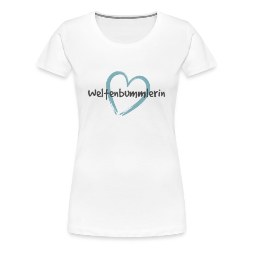 Premium T-Shirt Weltenbummlerin Bolivien - Frauen Premium T-Shirt