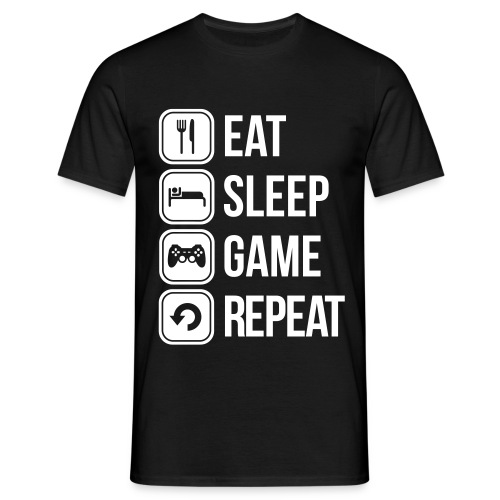 T-Shirt repeat - T-shirt Homme