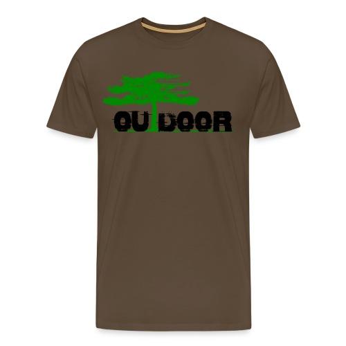 Outdoor Front Berg Heil Back Short Shirt For Men - Männer Premium T-Shirt