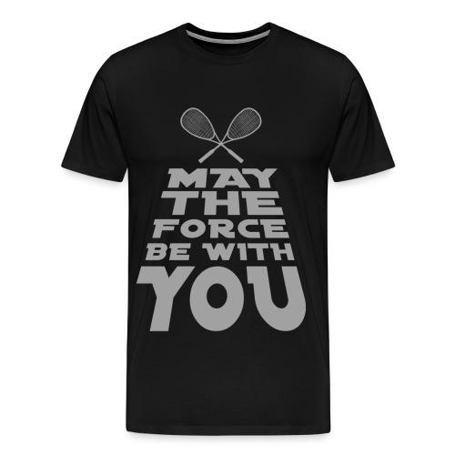 The Force (by siMode) - Männer Premium T-Shirt