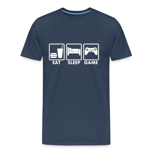 Eat Sleep Game T-Shirt - Men's Premium T-Shirt