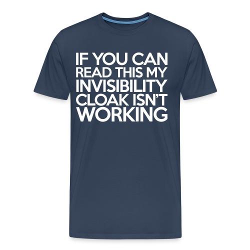 Invisibility Cloaking  T-Shirt - Men's Premium T-Shirt