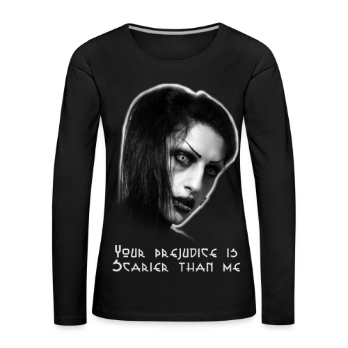 ScaryFace - Women's Premium Longsleeve Shirt