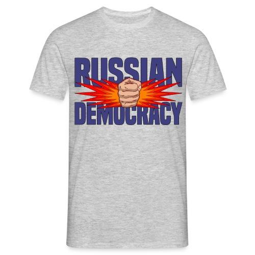 Russian Democracy - Men's T-Shirt