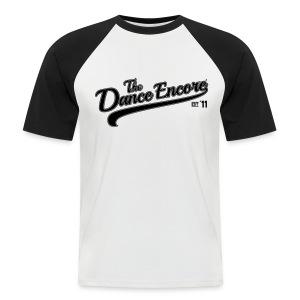 #ShirtBaseballMaleCAB - Männer Baseball-T-Shirt