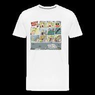 T-Shirts ~ Men's Premium T-Shirt ~ Mister Mad Drowns Himself T-Shirt Sam Backhouse