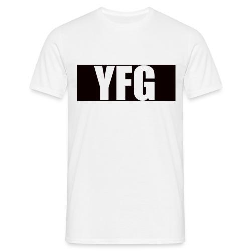 YFG Black Square - Mannen T-shirt