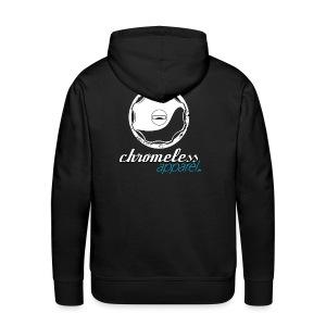 CHROMELESSAPPAREL // TANKDECKEL  BACK - Männer Premium Hoodie
