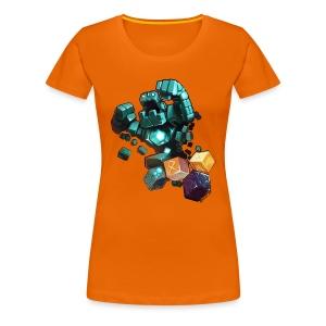 Golem on a Tshirt - Women's Premium T-Shirt