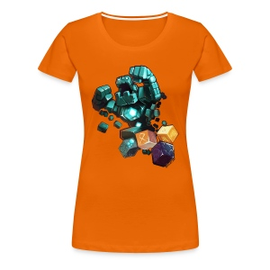 Golem on a Tshirt - Women's Premium T-Shirt