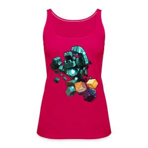 Golem on a Shirt - Women's Premium Tank Top