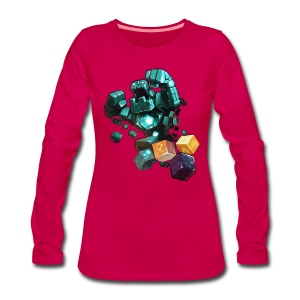 Golem on a Tshirt - Women's Premium Longsleeve Shirt