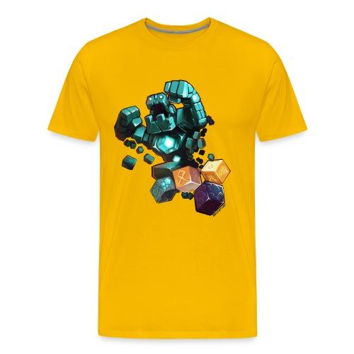 Golem on a Tshirt - Men's Premium T-Shirt