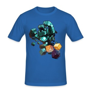 Golem on a Tshirt - Men's Slim Fit T-Shirt