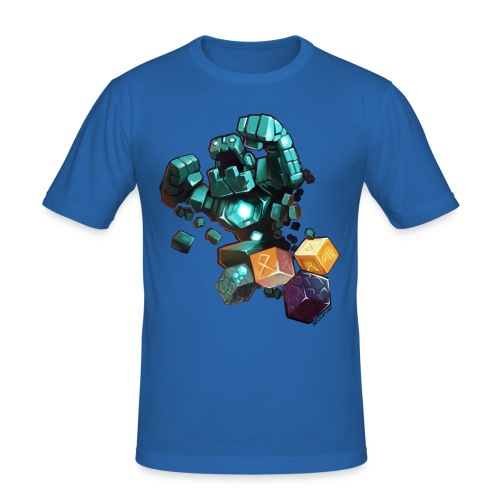 Golem on a Tshirt - Men's Slim Fit T-Shirt